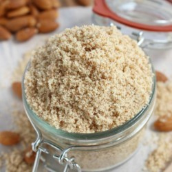 Homemade Almond Flour {Almond Meal}