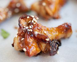 Honey Soy Chicken Wings Recipe