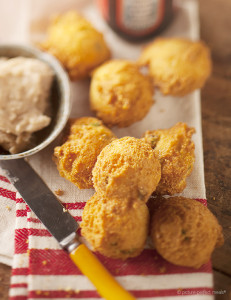 Hush Puppies with Cinnamon Honey Butter Recipe