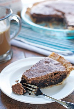 Irish Whiskey Brownie Pie Recipe