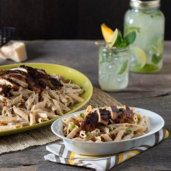 Jerk Chicken Alfredo