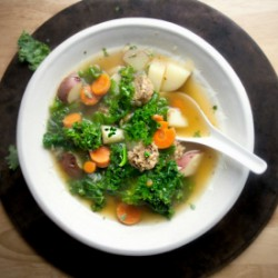 Kale and Red Potato Soup