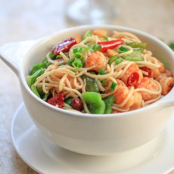 Kung Pao Shrimp Chow Mein Recipe
