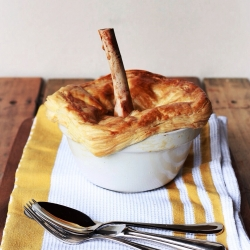 Lamb Shank and Guinness Pot Pie