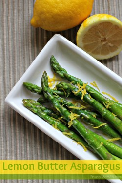 Lemon Butter Asparagus Recipe