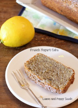 Lemon Poppy Seed French Yogurt Cake Recipe