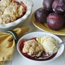 Light Plum Cobbler