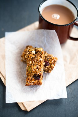 Lime Cinnamon Muesli Bars Recipe