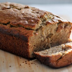 Maple Banana Bread Loaf