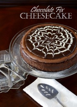 Marbled Chocolate Cheesecake Recipe