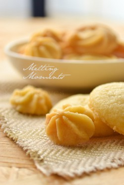 Melting moments -eggless cookies
