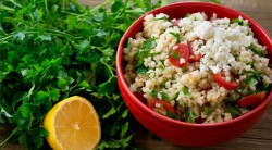 Millet Salad with Tomatoes and Feta Recipe