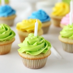 Mini Vanilla Cupcakes Recipe
