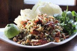 Nam Khao Lao Crispy Rice Salad Recipe