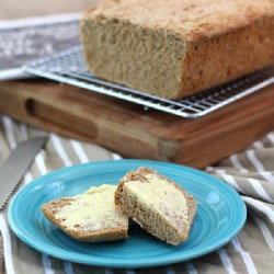 No-Knead Wholemeal Bread