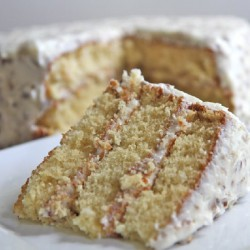 Old Fashioned Italian Cream Cake