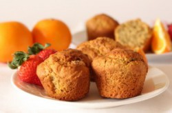 Orange Spiced Almond Muffins Recipe