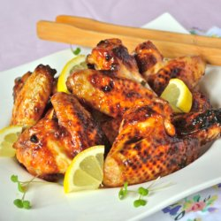 Oriental Sticky Spicy Wings