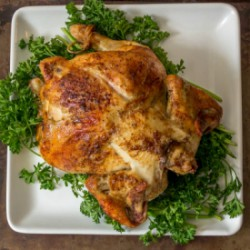 Perfect Rotisserie Chicken