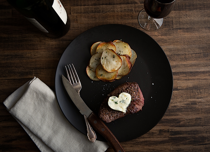 Porcini Crusted Beef Filet Recipe
