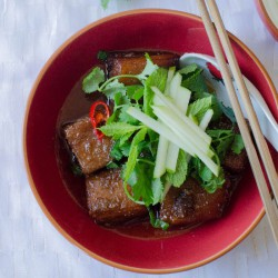 Pork Belly with Chilli Caramel