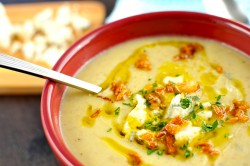 Potato Leek Gorgonzola Soup Recipe