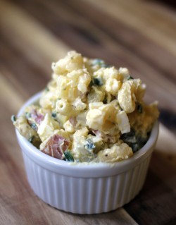 Potato Macaroni Egg Salad