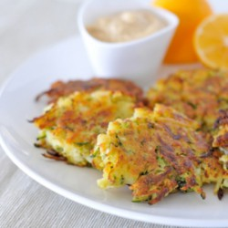 Potato Zucchini Patties GF/vegan