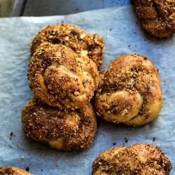 Pretzel Sugar Knots Recipe