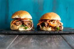 Pulled Pork Sliders with Asian Slaw Recipe