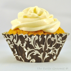 Pumpkin Cream Cheese Cupcake