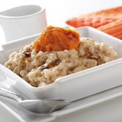 Pumpkin Maple Oatmeal