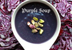 Purple Soup with Red Cabbage Recipe