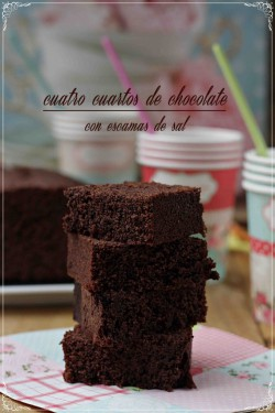 Quadruple Chocolate Sea salt Brownies Recipe