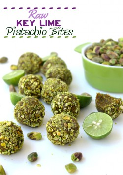 Raw Key Lime Pistachio Bites Recipe