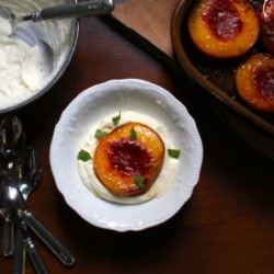 Roast Peaches