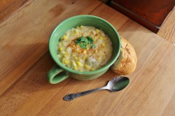 Roasted Corn Chowder