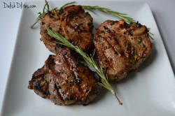 Rosemary and Garlic Grilled Lamb Chops Recipe