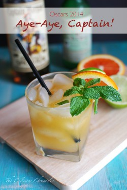 Rum Citrus and Mint Cocktail Recipe