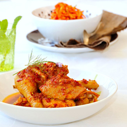 Sambal Ayam and Sambal Mangga