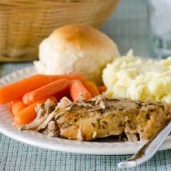 Slow Cooked Rosemary Pork Roast
