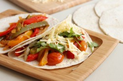 Slow Cooker Veggie Fajitas Recipe