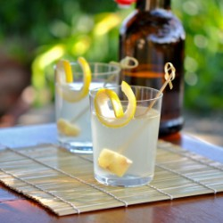 Sparkling Spicy Lemon Ginger-aid