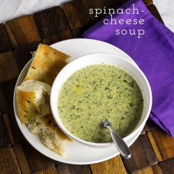 Spinach-Cheese Soup
