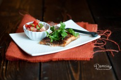 Sweet and Spicy Baked Salmon with Grapefruit Salsa Recipe