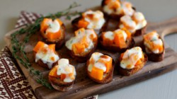 Sweet Potato Thyme Bruschetta Recipe