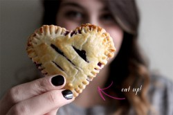 Sweetheart Blueberry Hand Pies