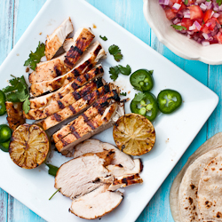 Tequila Lime Chicken Fajitas Recipe