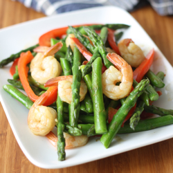 Thai Asparagus and Shrimp Stir Fry Recipe