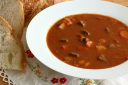 Traditional Hungarian Goulash